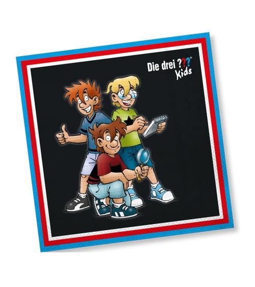 """Servietten """"Die drei Fragezeichen Kids"""" - 20 Stück"""