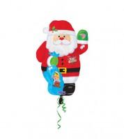 """Juniorshape-Folienballon """"Weihnachtsmann"""""""