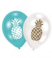 """Luftballon-Set """"Pineapple Vibes"""" - 6 Stück"""