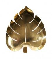 """Shape-Pappteller """"Goldenes Palmblatt"""" - 8 Stück"""