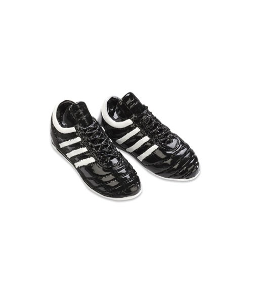 fc8e7dc3cf33f Fußballschuhe aus Polyresin - schwarz/weiß - 4,5 cm - 1 Paar