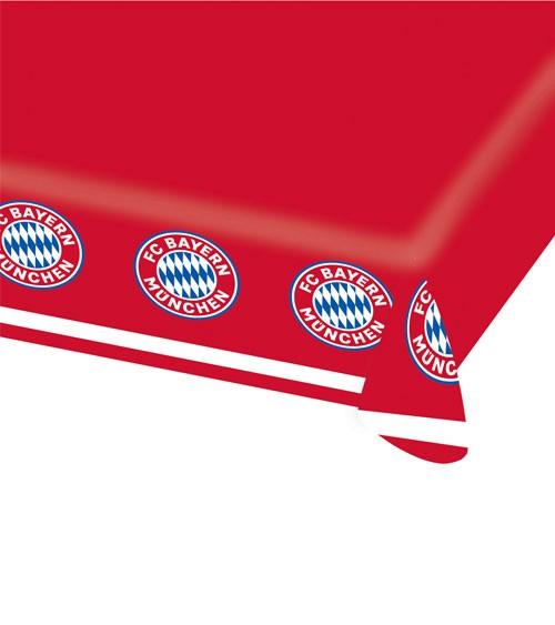 """Papier-Tischdecke """"FC Bayern München"""" - 115 x 175 cm"""
