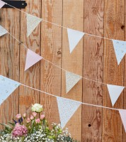 """Wimpelgirlande """"Rustic Country"""" - 10 m"""