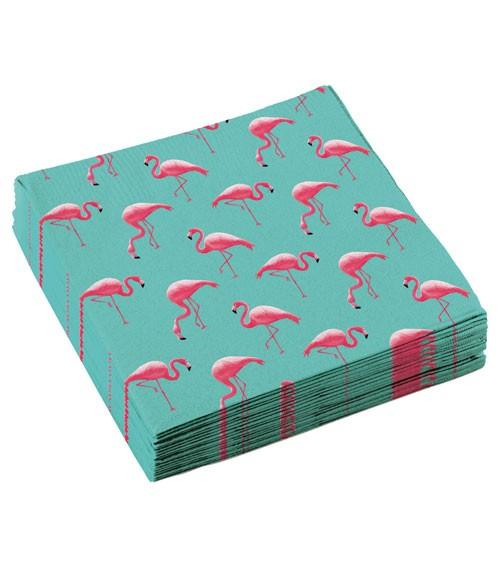 "Servietten ""Flamingo Paradise"" - 20 Stück"
