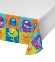 """Kunststoff-Tischdecke """"Monsterspaß"""" - 121 x 223 cm"""