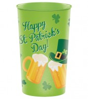 "XXL Plastikbecher ""St. Patrick's Day"" - 940 ml"