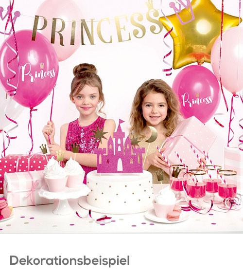 "Party-Deko-Set ""Prinzessin"" - 31-teilig"