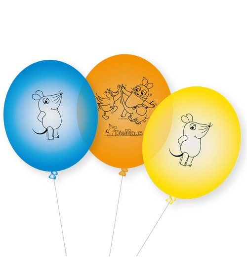 "Luftballon-Set ""Die Maus"" - 8-teilig"