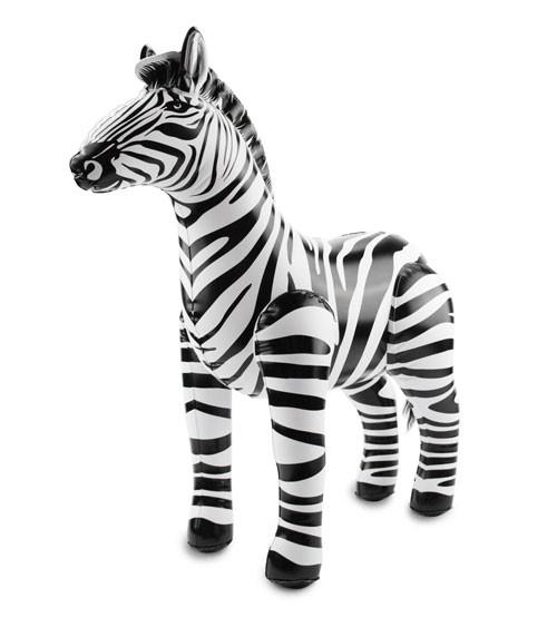 Aufblasbares Zebra - 55 x 60 cm