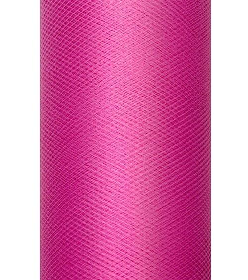 Tischläufer aus Tüll - pink - 30 cm x 9 m