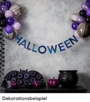 DIY Halloween-Deko-Set mit Girlande und Ballons - 39-teilig