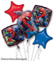 "Folienballon-Set ""Spiderman"" - 5-teilig"