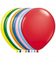 Metallic-Luftballons - bunt - 10 Stück