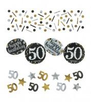 """Konfetti """"Sparkling Celebration"""" - 50. Geburtstag - 34 g"""