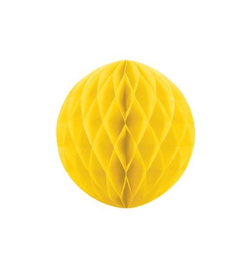 Wabenball - 10 cm - gelb