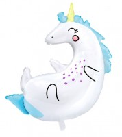 "Supershape-Folienballon ""Einhorn"" - 70 x 75 cm"