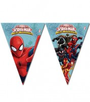 "Wimpelgirlande ""Ultimate Spiderman - Web Warriors"" - 2,3 m"