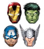 """Masken """"Mighty Avengers"""" - 6 Stück"""