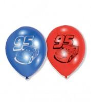 "Luftballon-Set ""Cars"" - 22,8 cm - 6 Stück"