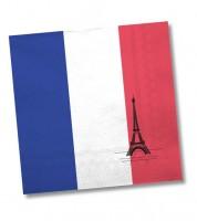 """Servietten """"Frankreich"""" - 20 Stück"""