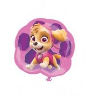 "Supershape-Folienballon ""Paw Patrol Pink"""
