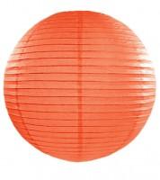 Papierlampion - orange - 45 cm