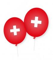 """Luftballons """"Schweiz"""" - 8 Stück"""
