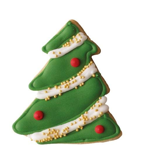 """Ausstecher mit Innenprägung """"Weihnachtsbaum"""" - 7,5 cm"""