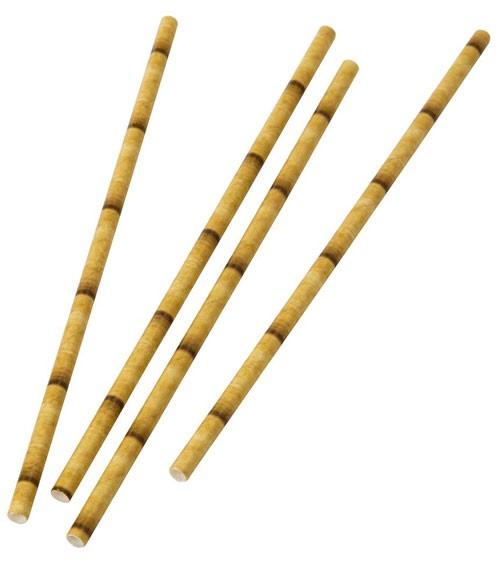 "Papierstrohhalme ""Bambus"" - 30 Stück"