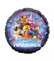 "Runder Folienballon ""Lego Movie 2"" - 43 cm"