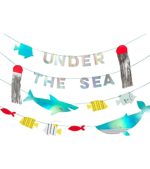 "DIY Motivgirlanden-Set ""Under the Sea"" - 4-teilig"