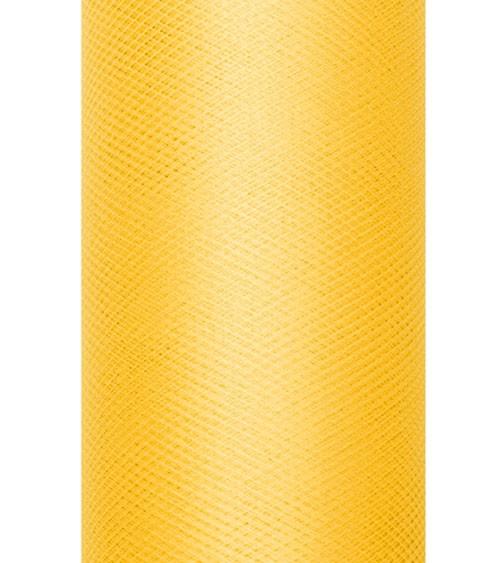 Tischläufer aus Tüll - gelb - 30 cm x 9 m