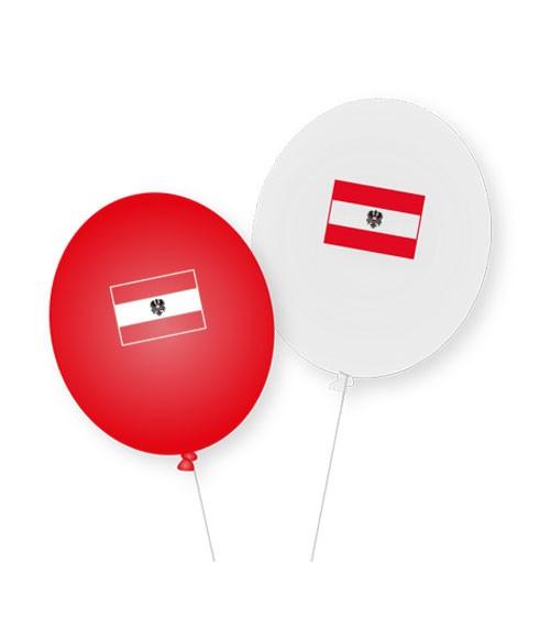 """Luftballons """"Österreich"""" - 8 Stück"""