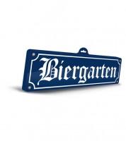 """3D-Schild """"Biergarten"""""""