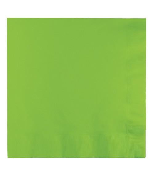 Servietten - fresh lime - 50 Stück