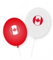 """Luftballons """"Kanada"""" - 8 Stück"""