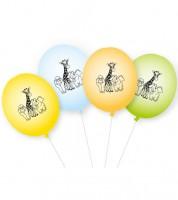 "Luftballons ""Zoo"" - 8 Stück"