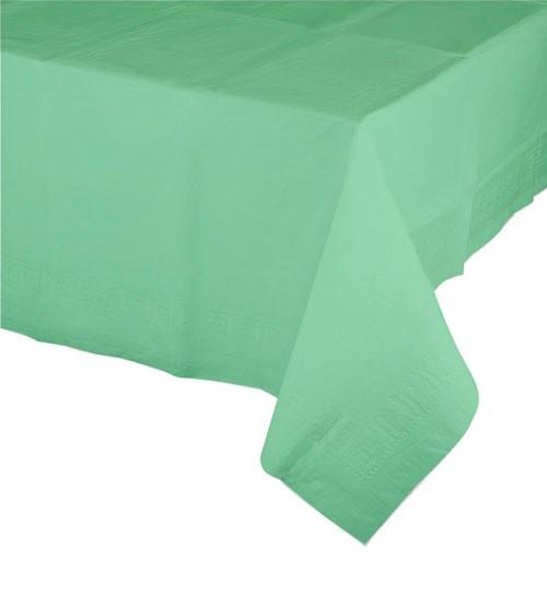 Kunststoff-Tischdecke - fresh mint - 137 x 274 cm