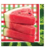 "Servietten ""Wassermelone"" - 16 Stück"