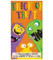 """Kunststoff-Tischdecke """"Halloween Monster"""" - 137 x 213 cm"""