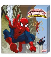 "Servietten ""Ultimate Spiderman - Web Warriors"" - 20 Stück"