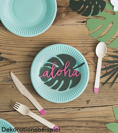 "Papierdekoration ""Aloha Party"" - 6 Stück"