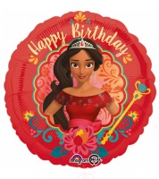 "Runder Folienballon ""Elena von Avalor"" - Happy Birthday"