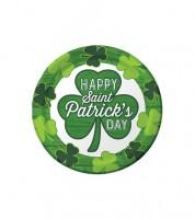 """Kleine Pappteller """"St. Patrick's Day"""" - 8 Stück"""