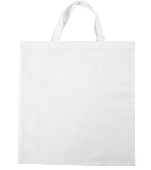 Stoffbeutel zum Bemalen - weiß - 38 x 42 cm