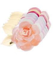 """Shape-Pappteller """"Rose Garden"""" - Farbmix - 8 Stück"""