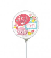 "Mini-Folienballon ""Best Mom Ever"" - 23 cm"