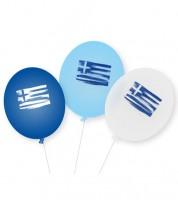 """Luftballons """"Griechenland"""" - 9 Stück"""