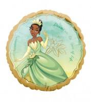 "Runder Folienballon ""Disney Princess - Tiana"" - 43 cm"