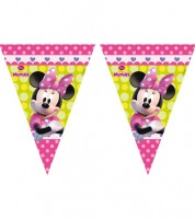 "Wimpelgirlande ""Minnie Happy Helpers"" - 2,3 m"